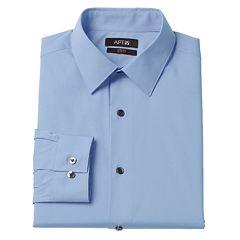 Men's Apt. 9® Slim Tall Stretch Spread-Collar Dress Shirt