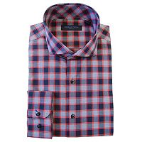 Men's Andrew Fezza Slim-Fit Comfort Flex Collar Dress Shirt