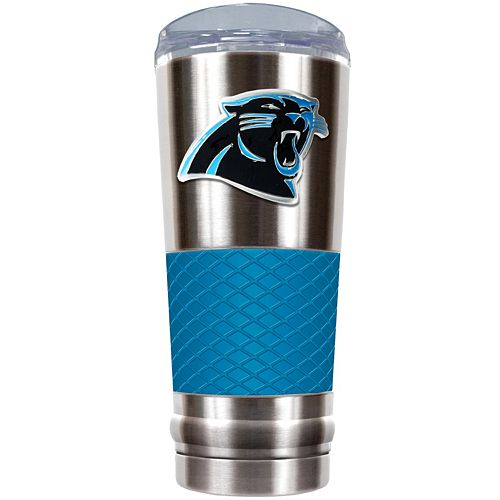 Carolina Panthers 24-Ounce Draft Stainless Steel Tumbler