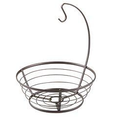 InterDesign Axis Fruit Bowl with Banana Hanger