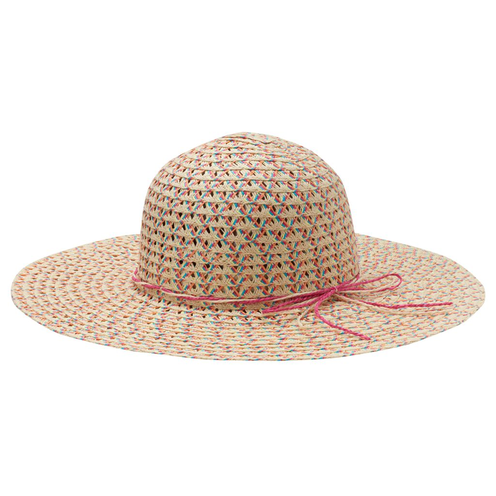 Girls 4-16 Marled Floppy Hat
