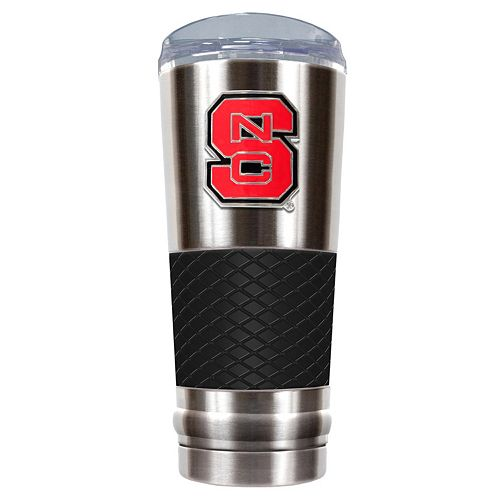 North Carolina State Wolfpack 24-Ounce Draft Stainless Steel Tumbler