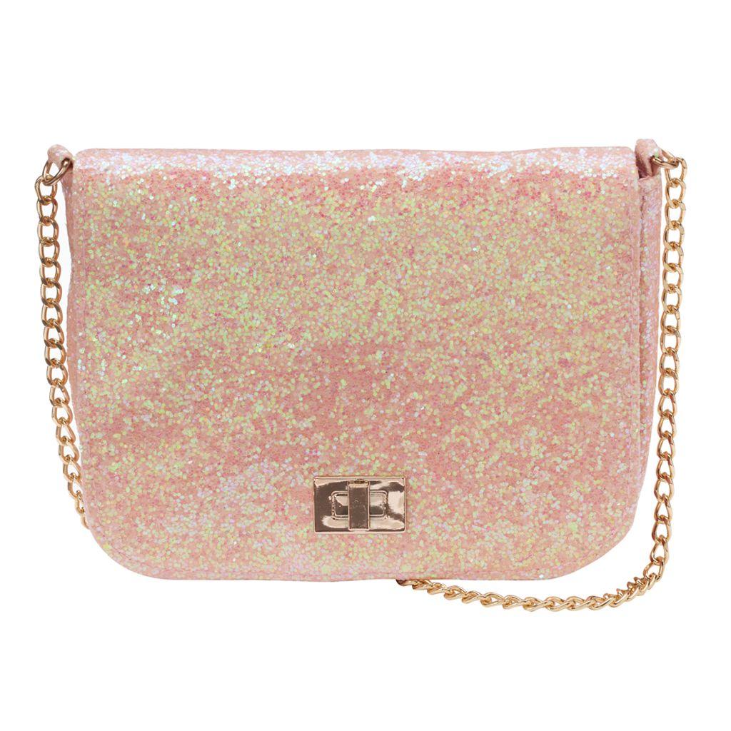 Girls 4-16 Glitter Crossbody Bag