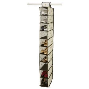 Closet Candie 10 Shelf Shoe Organizer