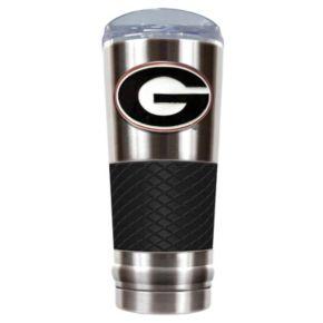 Georgia Bulldogs 24-Ounce Draft Stainless Steel Tumbler