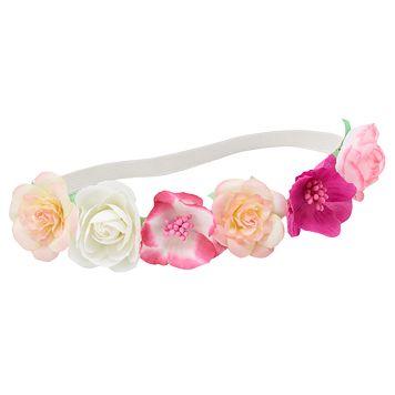 Girls 4-16 Floral Headwrap