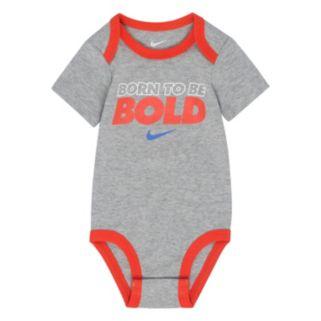 "Baby Boy Nike ""Born To Be Bold"" Bodysuit"