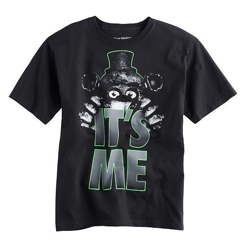 Boys 8-20 Five Nights At Freddy's Tee
