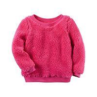 Baby Girl Carter's Sherpa Sweatshirt