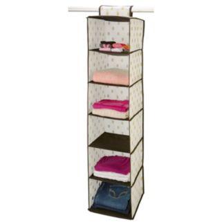 Closet Candie 6 Shelf Hanging Organizer