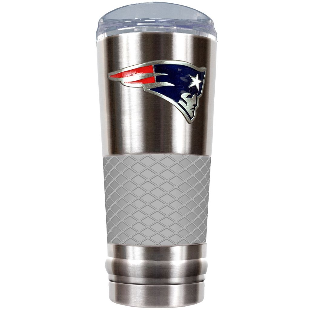 New EnglandPatriots 24-Ounce Draft Stainless Steel Tumbler
