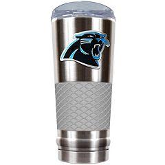 Carolina Panthers 24-Ounce Draft Stainless Steel Tumbler