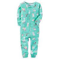 Baby Girl Carter's Dog One-Piece Pajamas