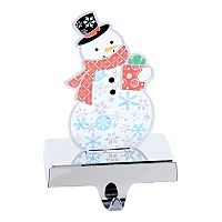Kurt Adler 8.25-in. Pre-Lit Snowman Christmas Stocking Holder