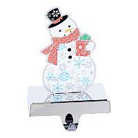 Kurt Adler 8.25-in. Pre-Lit Snowman Christmas Stocking Holder