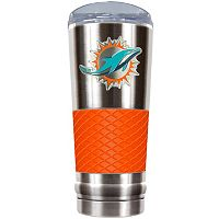 Miami Dolphins 24-Ounce Draft Stainless Steel Tumbler