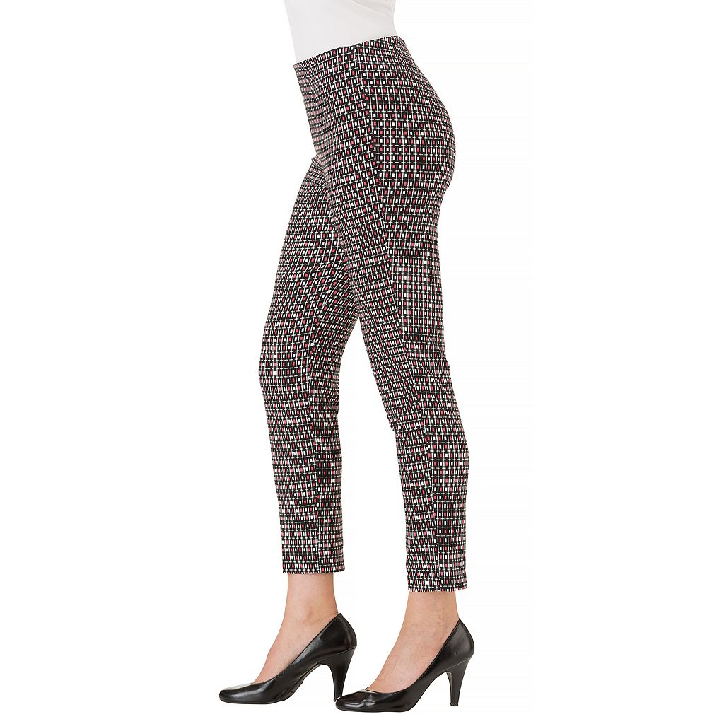 Women's Haggar Flat Front Ankle Pant