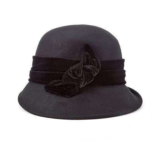 ddc8446fcaf9a Scala Wool Felt Cloche Hat