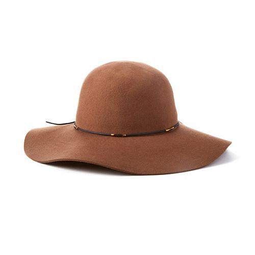 Scala Wool Felt Floppy Hat