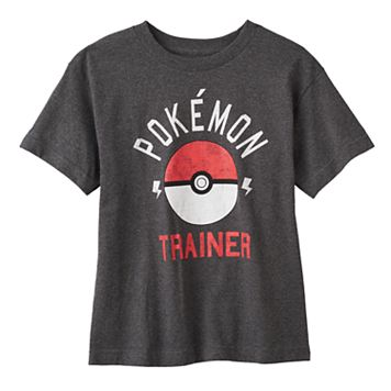 Boys 8-20 Pokemon Trainer Tee