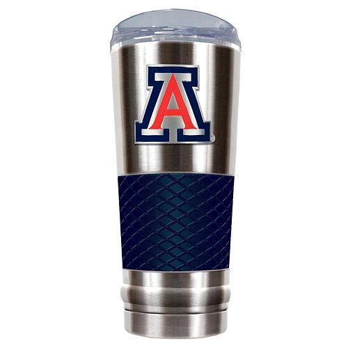 Arizona Wildcats 24-Ounce Draft Stainless Steel Tumbler