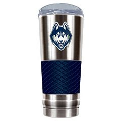 UConn Huskies 24-Ounce Draft Stainless Steel Tumbler
