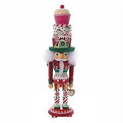 Kurt Adler 18-in. Cupcake Christmas Nutcracker