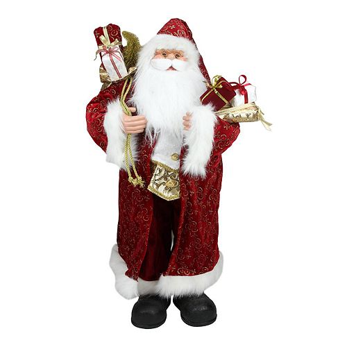 32-in. Standing Santa Christmas Decor