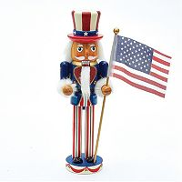 Kurt Adler 12-in. Patriotic Christmas Nutcracker