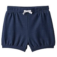 Baby Girl Jumping Beans® Faux-Denim Bubble Shorts