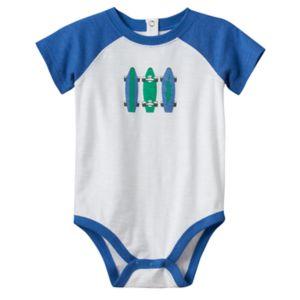 Baby Boy Jumping Beans® Slubbed Graphic Bodysuit