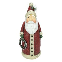 17-in. Rustic Santa Christmas Table Decor