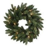 Kurt Adler 18-in. Pre-lit Artificial Christmas Wreath
