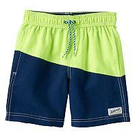 Boys 4-7 Carter's Colorblock Swim Trunks