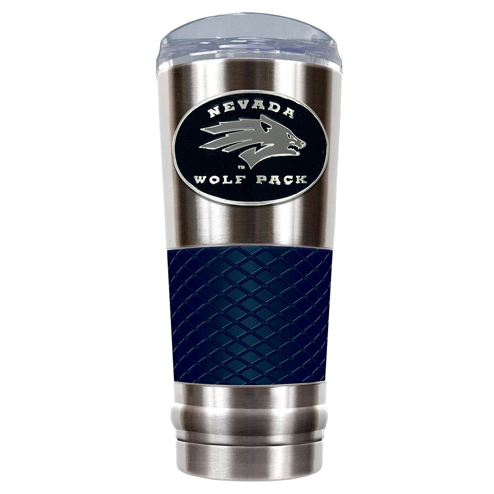 Nevada Wolf Pack 24-Ounce Draft Stainless Steel Tumbler