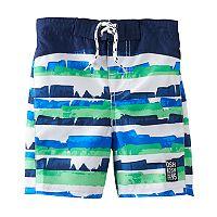 Boys 4-7 OshKosh B'gosh® Striped Swim Trunks