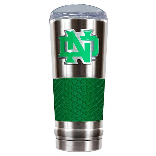 North Dakota Fighting Hawks 24-Ounce Draft Stainless Steel Tumbler