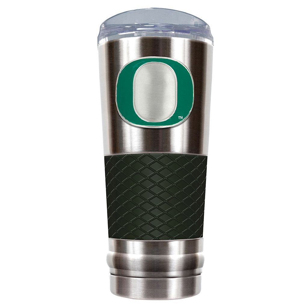 Oregon Ducks 24-Ounce Draft Stainless Steel Tumbler
