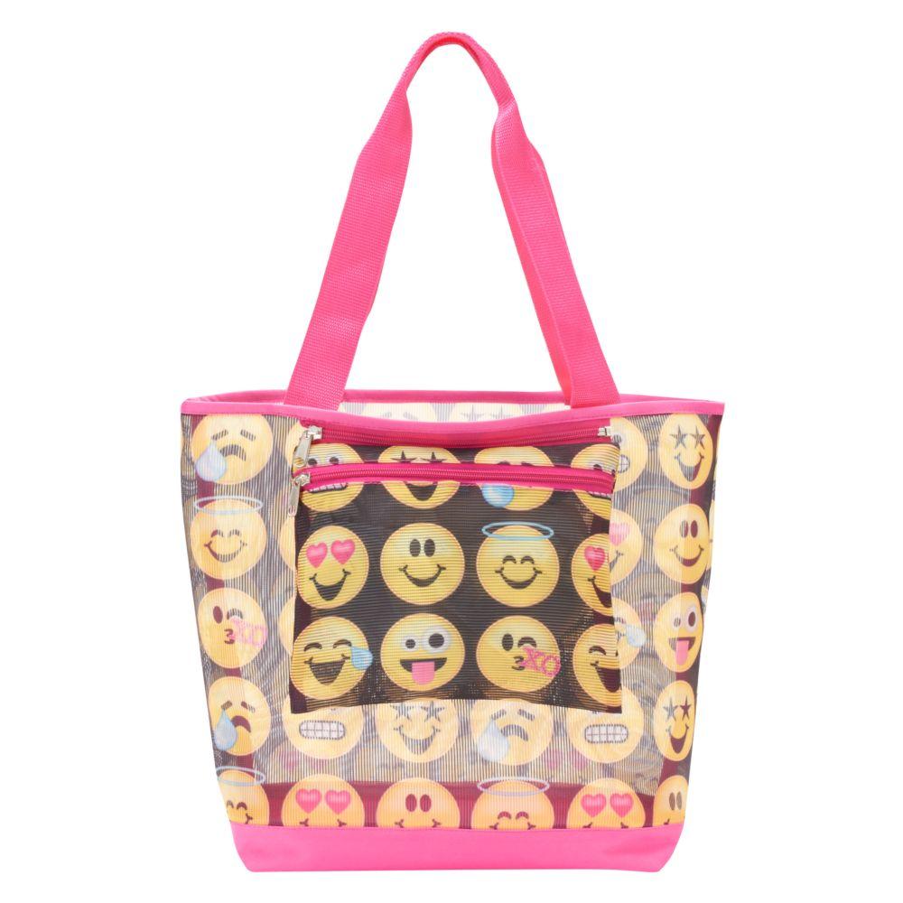 Emoji Beach Tote