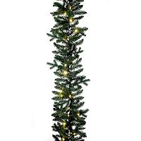 Kurt Adler 9-ft. Pre-Lit Artificial Christmas Garland