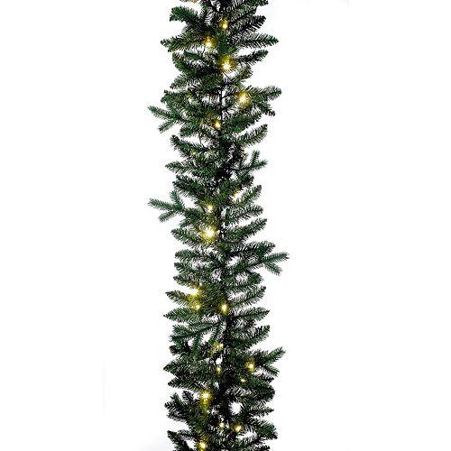 Kurt Adler 9-ft. Pre-Lit Artificial Christmas Garland
