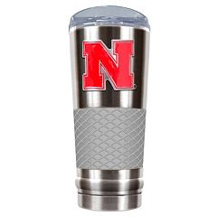 Nebraska Cornhuskers 24-Ounce Draft Stainless Steel Tumbler