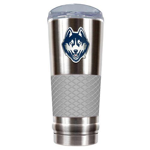 UConn Huskies 24-Ounce Draft Stainless Steel Tumbler