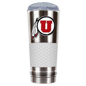 Utah Utes 24-Ounce Draft Stainless Steel Tumbler