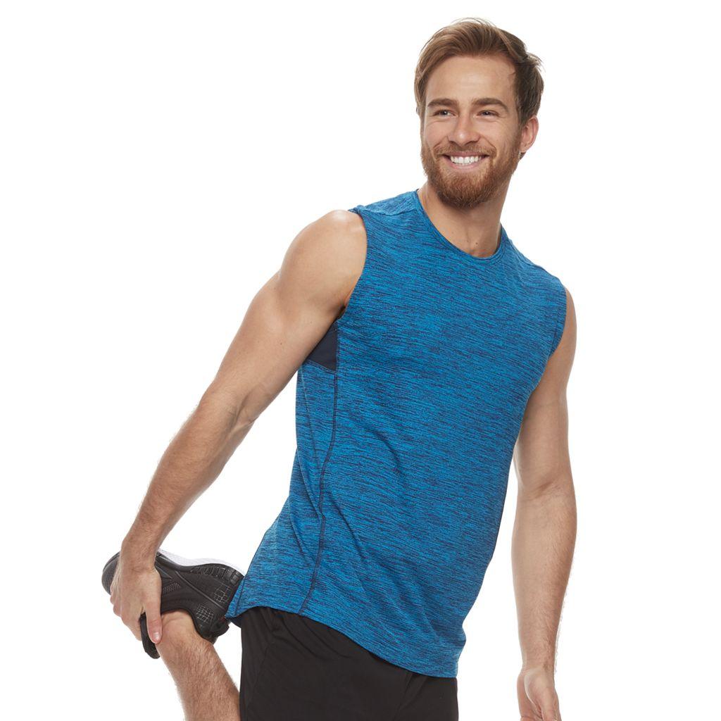 Men's Tek Gear® Space-Dyed Muscle Tee
