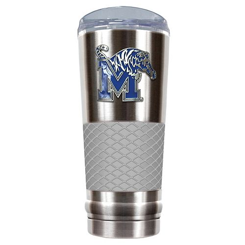 Memphis Tigers 24-Ounce Draft Stainless Steel Tumbler