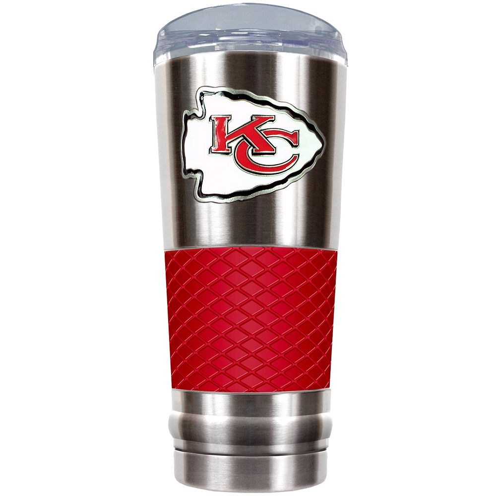 Kansas City Chiefs 24-Ounce Draft Stainless Steel Tumbler