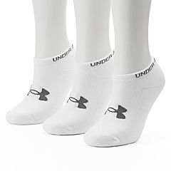 Women's Under Armour 3 pkHeatGear No-Show Socks