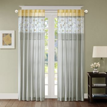 Madison Park Brighton 2-pack Window Curtains