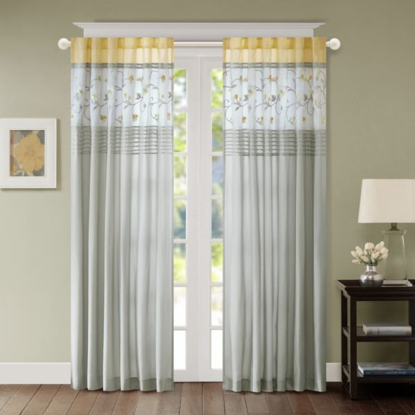 Madison Park Brighton 2 Pack Curtains
